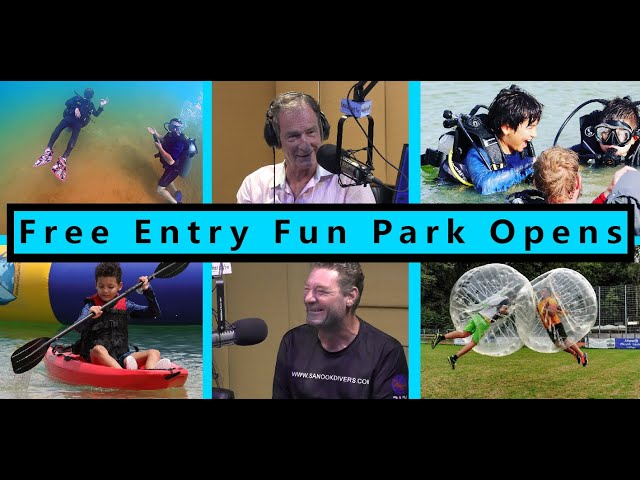 FREE ENTRY Fun Park Opens in Pattaya  - Sanook Park (26 March 2021)