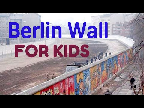 The Berlin Wall For Kids Youtube