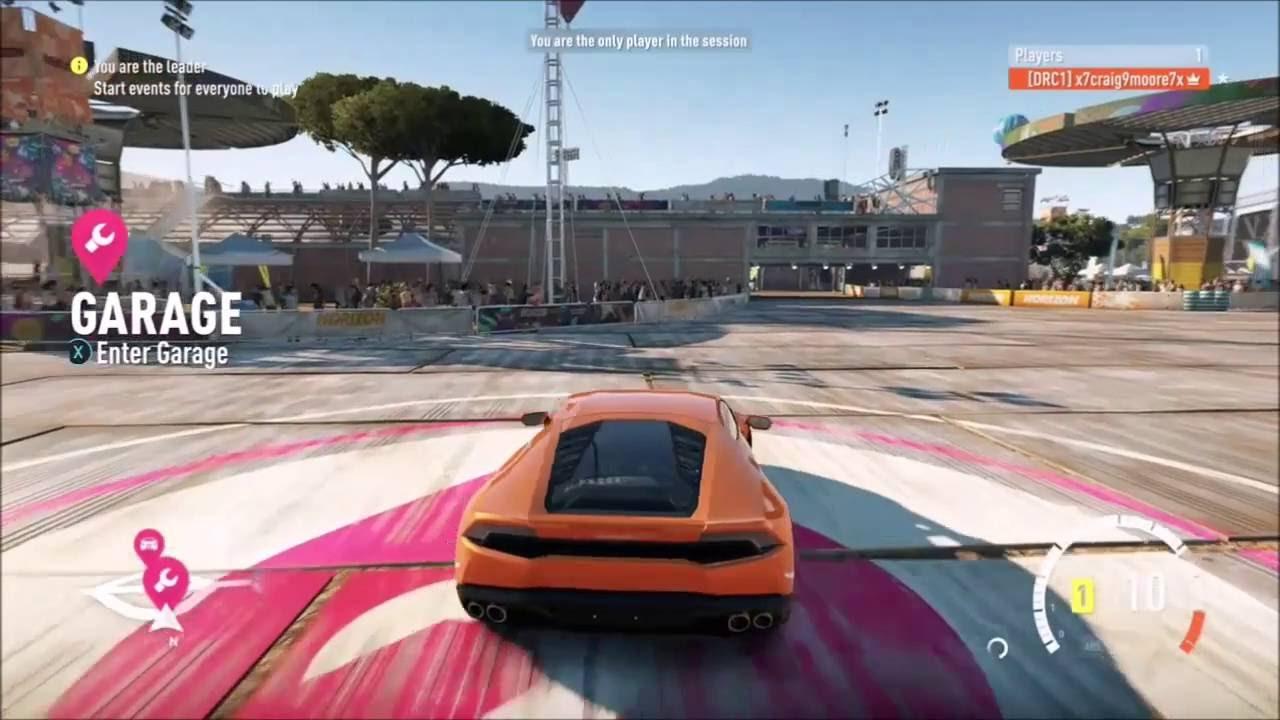 forza horizon 2 lamborghini huracan fastest accelerating car in game xbox one youtube. Black Bedroom Furniture Sets. Home Design Ideas