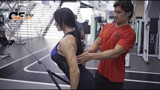Мария Кузьмина и Дмитрий Яшанькин - Тренировка спины