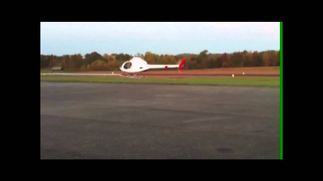 Rotorway Helicopter Ebay for sale - YouTube on