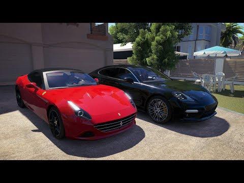 EduKof VS Anna - Porsche Panamera VS Ferrari California T