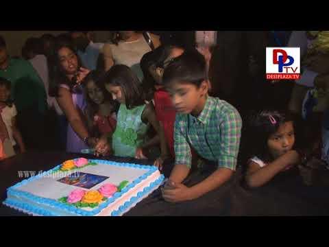 Cake Cutting at Premier Show - Anando Brahma, Dallas Texas, USA