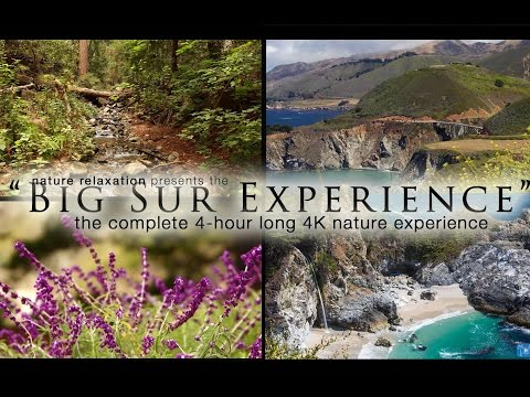 "[HD] ""The Big Sur 4K Experience"" Pure Nature Documentary/  Relaxation Video"