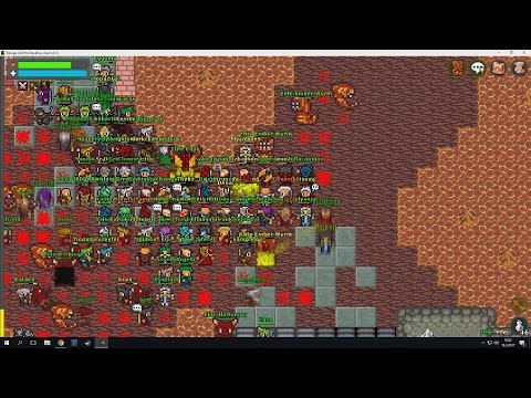 150+ Players In Hell! Event Boss Egon Bossfight! [Mirage Realms]