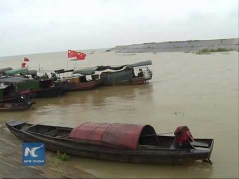 China's largest freshwater lake triples in size due to downpour