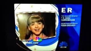 NBC Credits: ER (1999)