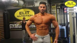 Men's Physique Brothers Ayoub Ahmad & Jones Ahmad Chest Workout
