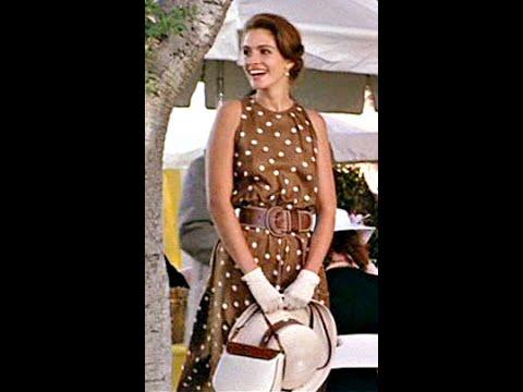 Шьем платье в горошек как у Красотки