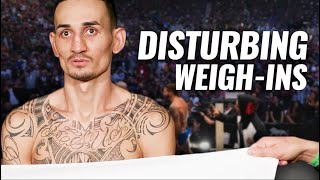 10 of the Most Disturbing UFC Weigh-Ins