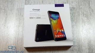 Распаковка Blackview Omega в металле и стекле с богатой комплектацией (unboxing)