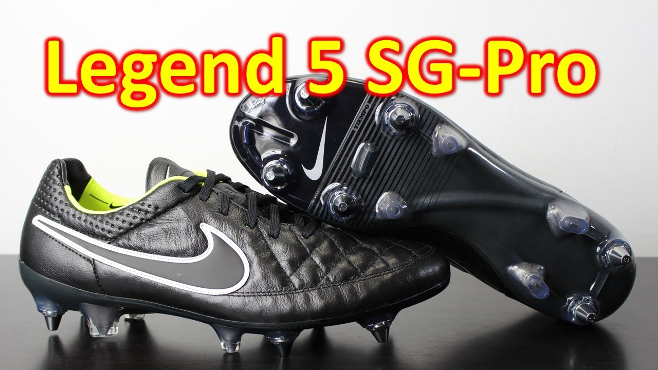 quality design a3884 69085 Nike Tiempo Legend 5 SG-Pro Stealth Pack Black/Volt - Unboxing + On Feet