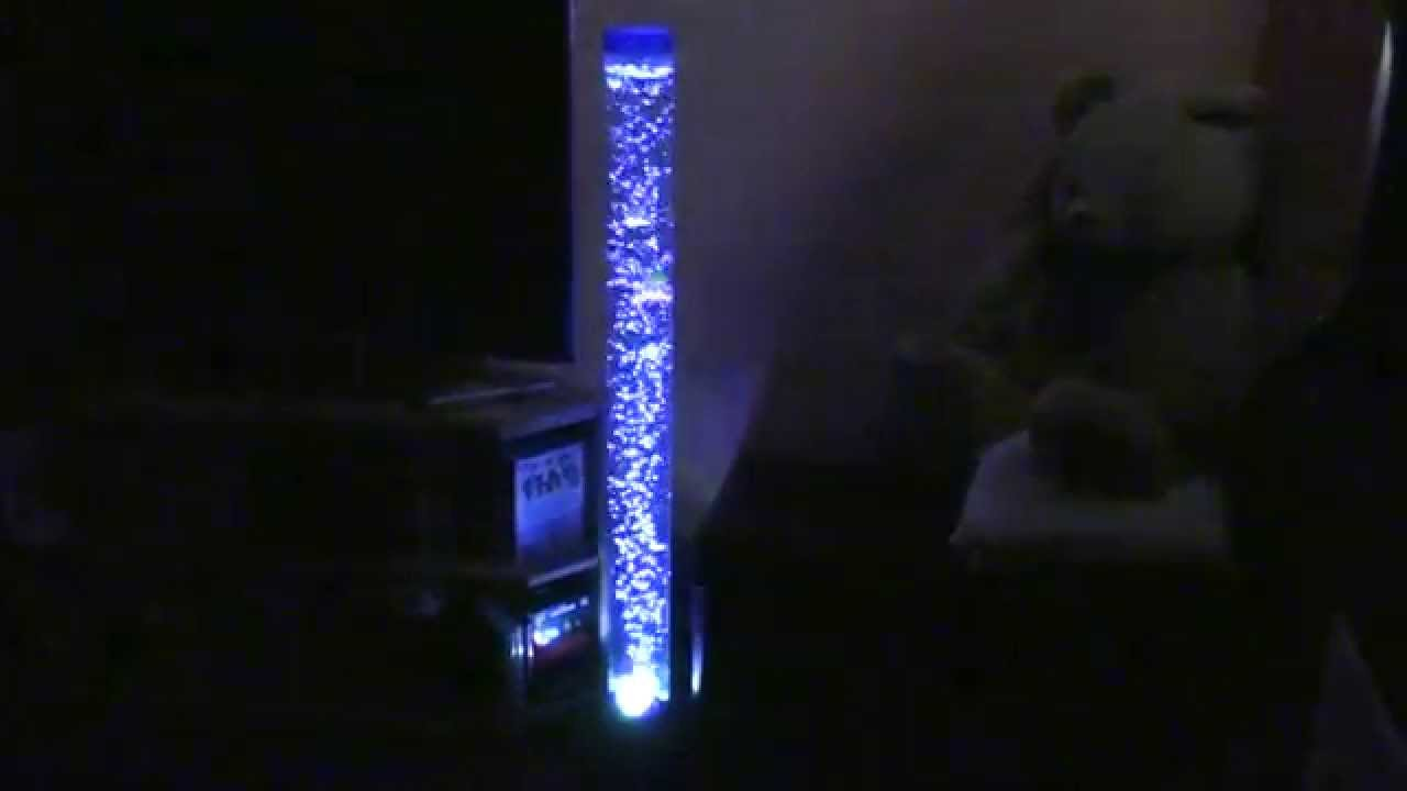 Cool Bubble Fish Lamp  120 meters tall Aquarium  HD