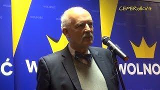 [1] Pytania do Janusza Korwin-Mikkego w Wielkiej Brytanii
