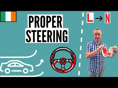 How to use the Steering Wheel - Driving Lesson