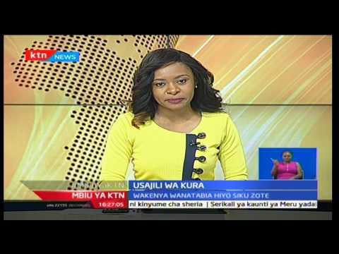 Mbiu ya KTN Taarifa Kamili na Mashirima Kapombe 14/2/2017 - Sehemu 2