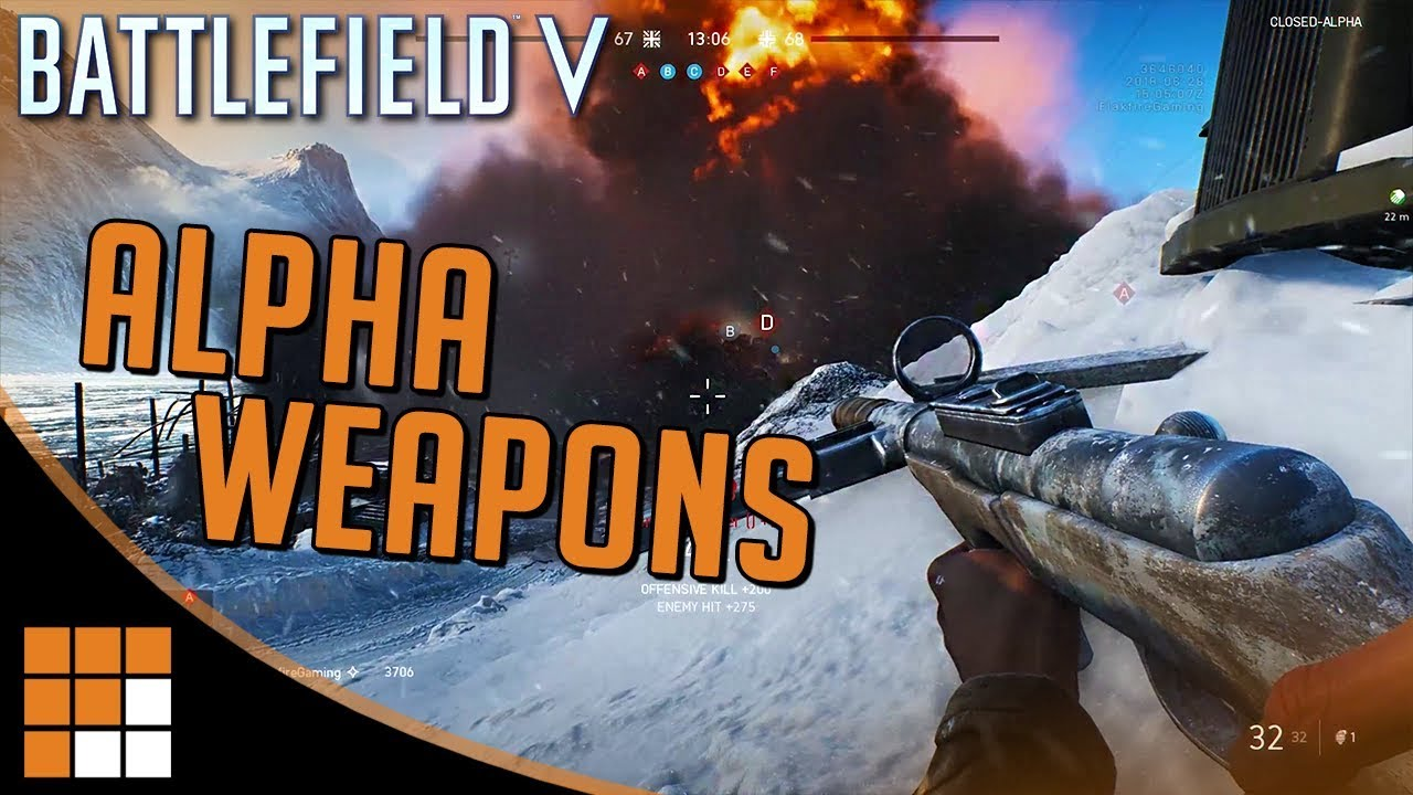 Weapons and Gunplay Tips of Battlefield V Closed Alpha