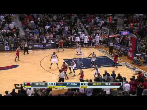 Chicago Bulls vs Atlanta Hawks | February 25, 2014 | NBA 2013-14 Season