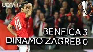 BENFICA 3-0 DINAMO ZAGREB #UEL HIGHLIGHTS