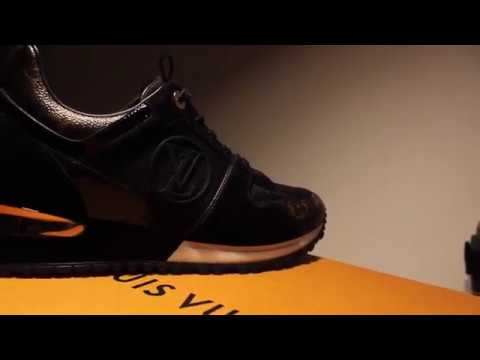 18fbc0a9188 $800 LOUIS VUITTON RUN AWAY SNEAKER UNBOXING | THE BRAND LAB