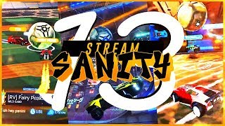 ROCKET LEAGUE STREAMSANITY 13 ! (BEST GOALS - JSTN, SQUISHY, JHZER, JWOLS, RLCS WEEK 1)