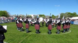 Police Service of Northern Ireland Pipe Band, British Championships 2013.