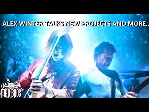 ALEX WINTER   2017 BILL & TED 3 SPOILERS!!!!!!!