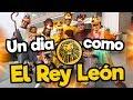Un día como los personajes de EL REY LEON / Memo Aponte