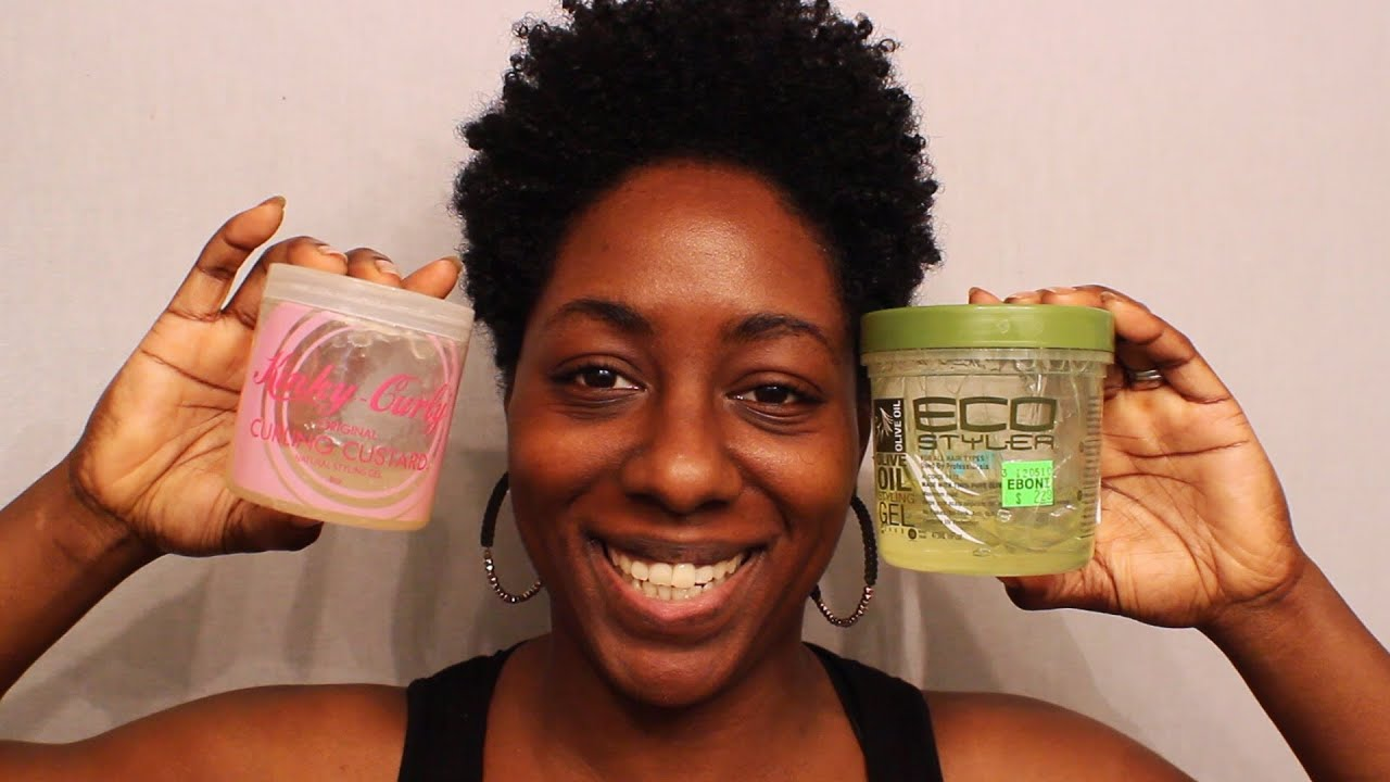 ... Experience| Kinky Curly vs EcoStyler (Tapered Natural Hair) - YouTube