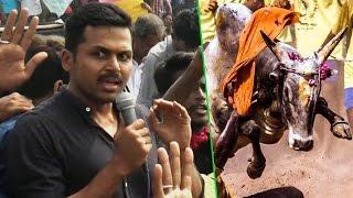 Actor Karthi Speech At Students Protest in Merina | Jallikattu issue