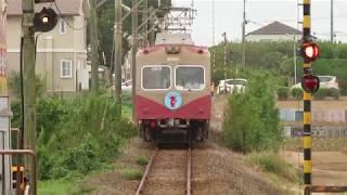 銚子電気鉄道2000形 犬吠駅到着 Choshi Electric Railway 2000 series EMU