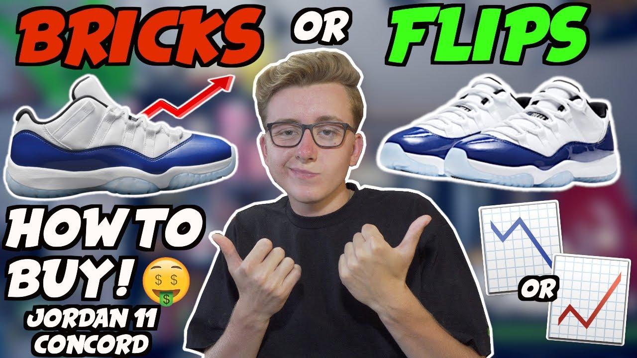 BRICKS or FLIPS Nike Air Jordan 11 Low