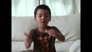 "Alan Sings ""Aomushi"" Caterpillar"