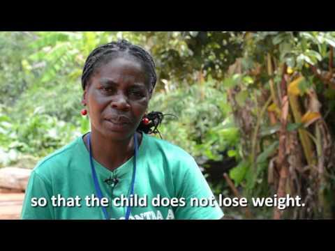 CMAM - Community-based Managed Acute Malnutrition - Health Worker in Angola