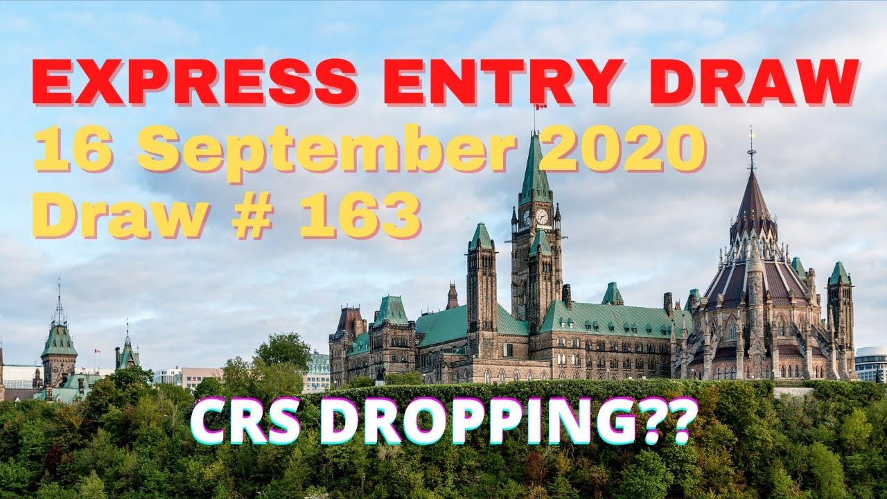 Express Entry Draw 16 September 2020