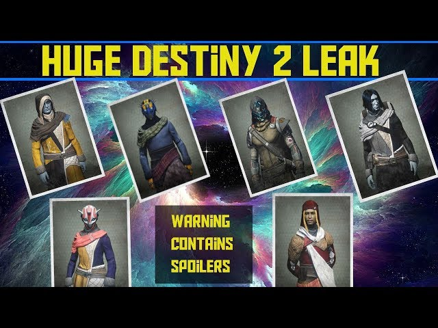 DESTINY 2 BETA HUGE LEAK - RAHOOL, BANSHEE 44 A NEW TOWER, FACTIONS AND SLOANE NEW NPC