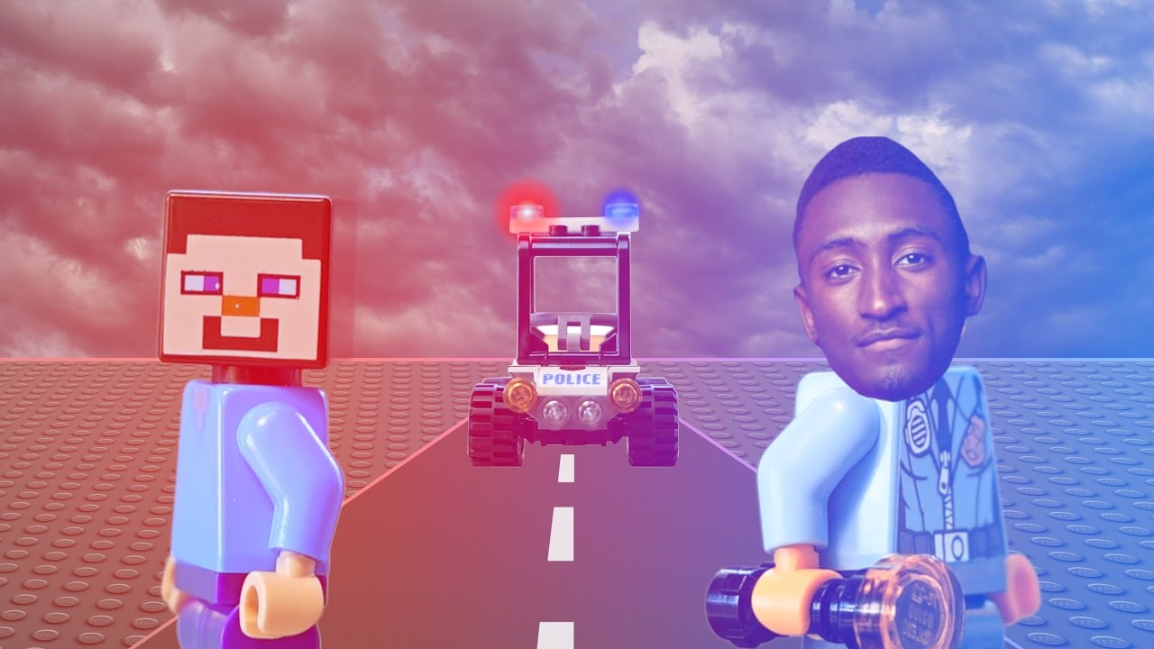 LEGO POLICE CHASE WITH MKBHD! - LEGO POLICE CHASE WITH MKBHD!
