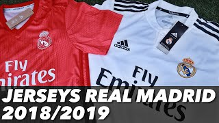 JERSEYS REAL MADRID 18/19 | UNBOXING & REVIEW
