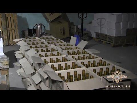 Полицейские пресекли незаконную деятельность цеха по производству алкогольной продукции