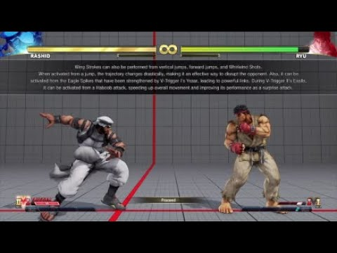 Street Fighter® V AE Showcasing All Characters V Skill 2 Demonstrations