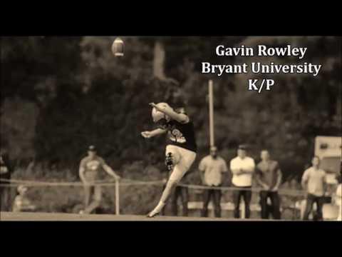 Gavin Rowley, Bryant Kicker #42 - Sophomore Season Highlights 2017