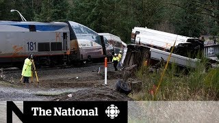 Video Derailed Amtrak train was going 80 km/h over speed limit download MP3, 3GP, MP4, WEBM, AVI, FLV Januari 2018