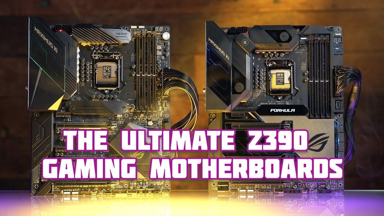 Asus Rog Maximus Xi Hero Formula Xi The Ultimate Z390 Gaming Motherboards Youtube