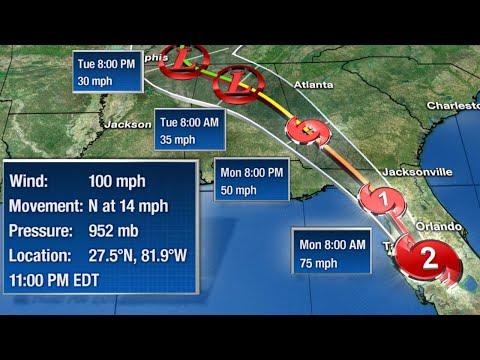 Irma's Eyewall To Move Through Orlando Tourist District