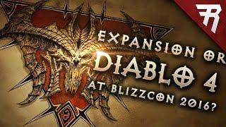 Update Diablo Blizzcon Diablo Expansion Or Diablo Patch Realms Evil