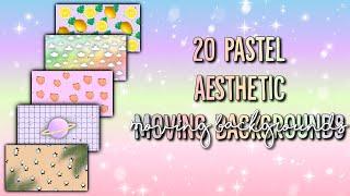20 Aesthetic Moving Backgrounds Youtube