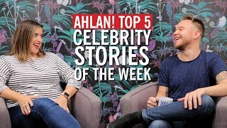 Ahlan! Top 5:  Two Unlikely Celeb Couples, Teenage Achy Breaky Hearts And Super Bowl Drama