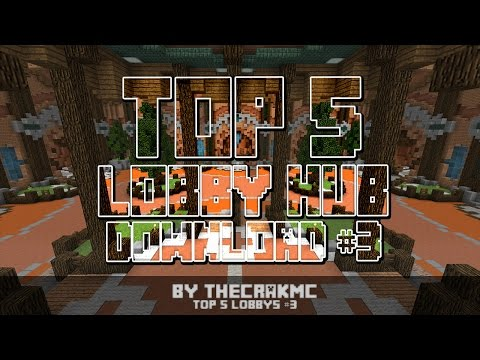 TOP 5 LOBBY / HUB SERVER DOWNLOAD MINECRAFT #3