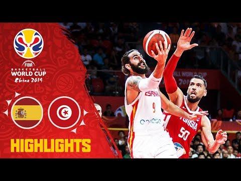 Spain v Tunisia - Highlights - FIBA Basketball World Cup 2019