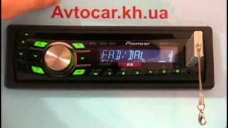 Видеообзор автомагнитолы Pioneer DEH-2320UB avtocar.kh.ua